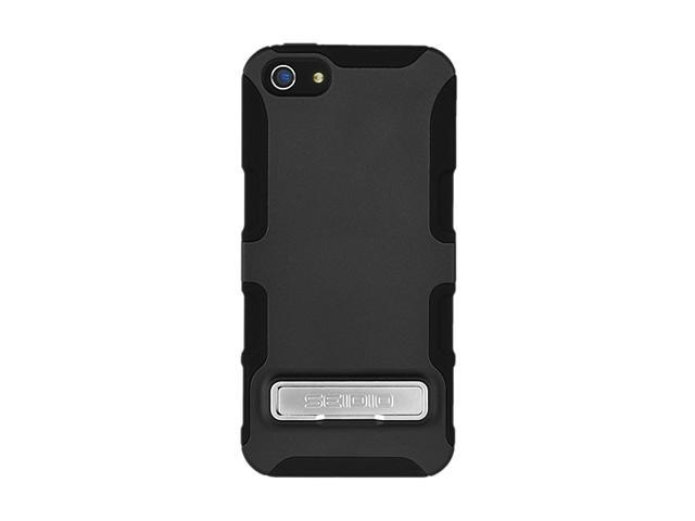 Seidio DILEX (with kickstand) Black Case For iPhone 5 / 5S CSK3IPH5K-BK