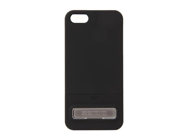 Seidio SURFACE (w/Kickstand) Black Case For iPhone 5 / 5S CSR3IPH5K-BK