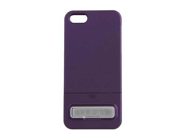 Seidio SURFACE (w/Kickstand) Amethyst Case For iPhone 5 / 5S CSR3IPH5K-PR