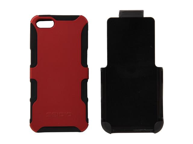 Seidio DILEX Combo Garnet Red Case For iPhone 5 / 5S BD2-HK3IPH5-GR