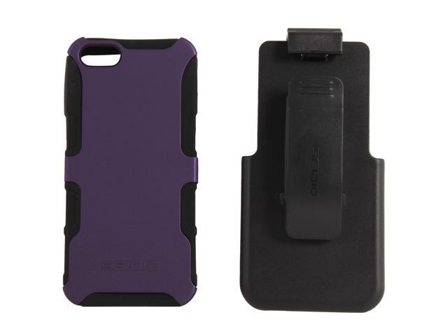 Seidio DILEX Combo Amethyst Case For iPhone 5 / 5S BD2-HK3IPH5-PR