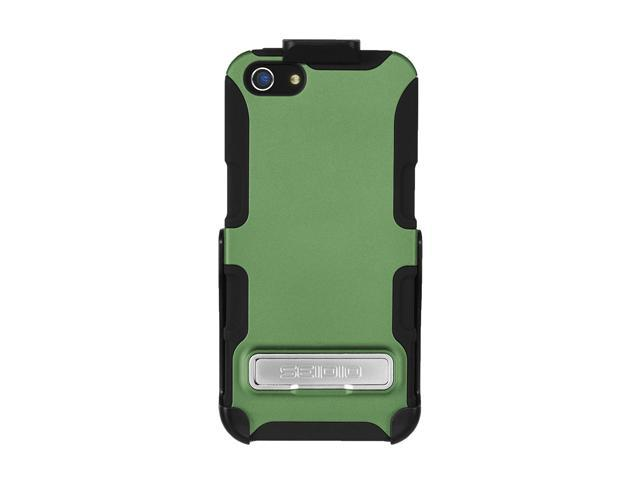 Seidio DILEX Combo (w/ Kickstand ) Sage Case For iPhone 5 / 5S BD2-HK3IPH5K-GN