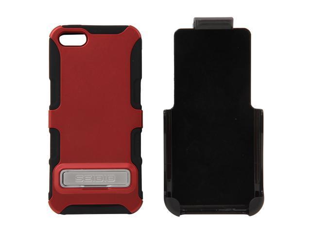 Seidio DILEX Combo (w/ Kickstand ) Garnet Red Case For iPhone 5 / 5S BD2-HK3IPH5K-GR