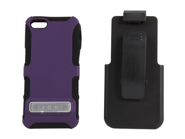 Seidio DILEX Combo (w/ Kickstand ) Amethyst Case For iPhone 5 / 5S BD2-HK3IPH5K-PR
