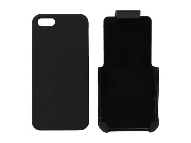 Seidio SURFACE Combo Black Case For iPhone 5 / 5S BD2-HR3IPH5-BK