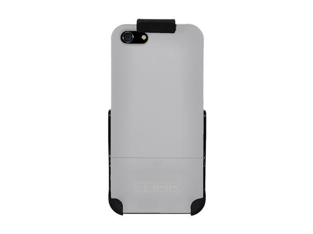 Seidio SURFACE Combo Glossed White Case For iPhone 5 / 5S BD2-HR3IPH5-GL