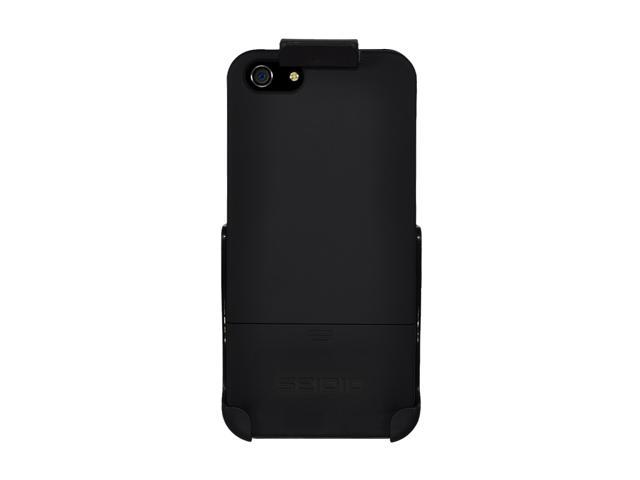 Seidio SURFACE Combo Piano Black Case For iPhone 5 / 5S BD2-HR3IPH5-PB