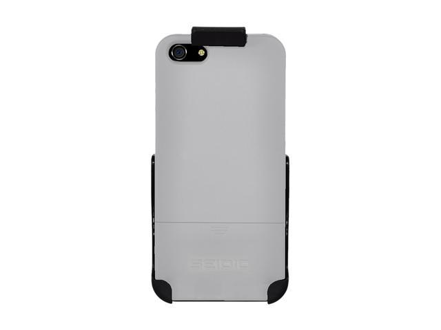 Seidio SURFACE Combo (w/Kickstand) Glossed White Case For iPhone 5 / 5S BD2-HR3IPH5K-GL