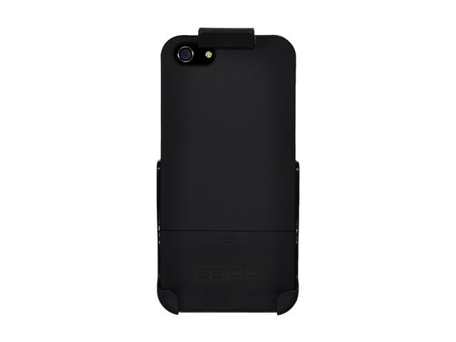 Seidio SURFACE Combo (w/Kickstand) Piano Black Case For iPhone 5 / 5S BD2-HR3IPH5K-PB