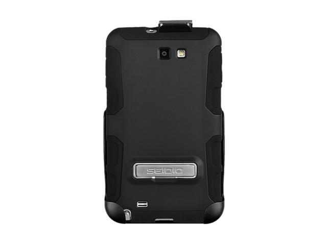 Seidio ACTIVE Combo with Metal Kickstand Black Holster For Samsung Galaxy Note BD2-HK3SSGNTK-BK