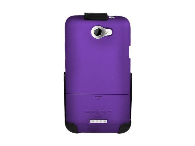 Seidio SURFACE Combo Amethyst Holster For HTC One X (AT&T LTE) BD2-HR3HTNXL-PR