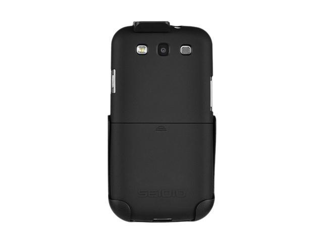 Seidio SURFACE Combo Black Holster For Samsung Galaxy S III BD2-HR3SSGS3-BK