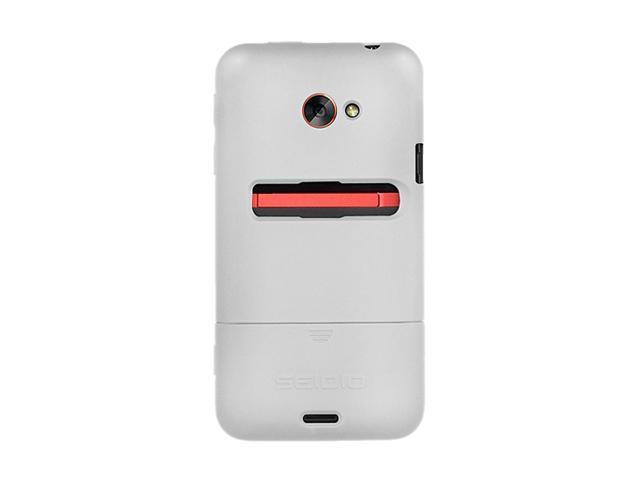 Seidio SURFACE Glossed White Case For HTC EVO 4G LTE CSR3HTJET-GL