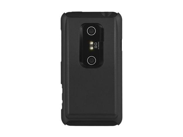 Seidio SURFACE Extended Black Solid Case For HTC EVO 3D / HTC EVO V 4G CSR5HEV3DX-BK