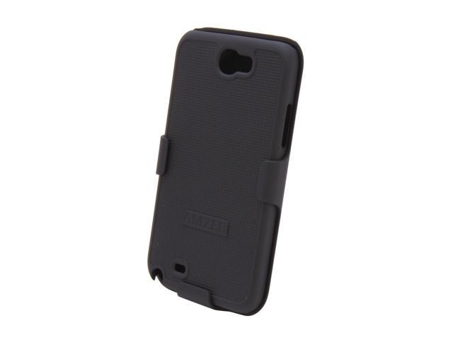AMZER Shellster Black Holster For Samsung Galaxy Note II AMZ94947