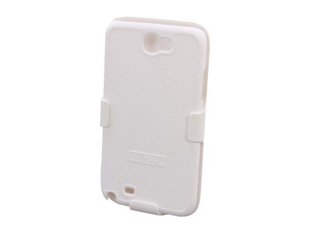 AMZER Shellster White Holster For Samsung Galaxy Note II AMZ94948