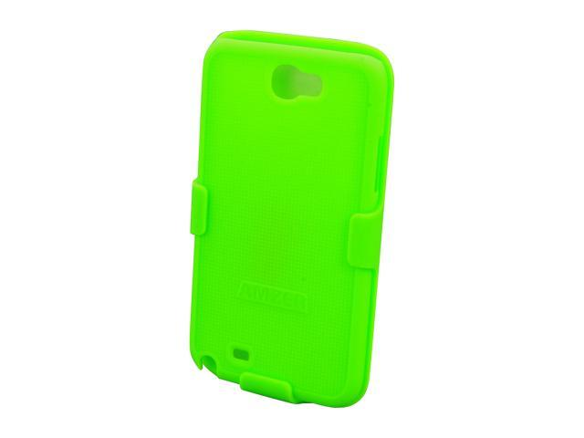 AMZER Shellster Neon Green Holster For Samsung Galaxy Note II AMZ94951