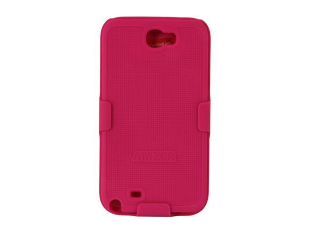 AMZER Shellster Hot Pink Holster For Samsung Galaxy Note II AMZ94952