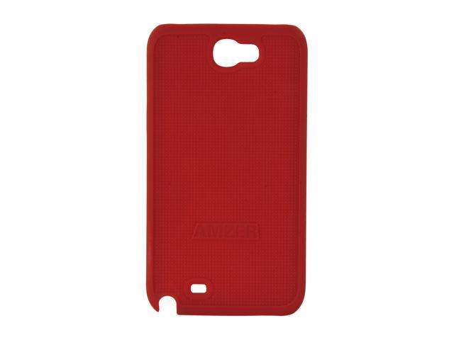 AMZER Red Snap On Case For Samsung Galaxy Note II AMZ94956