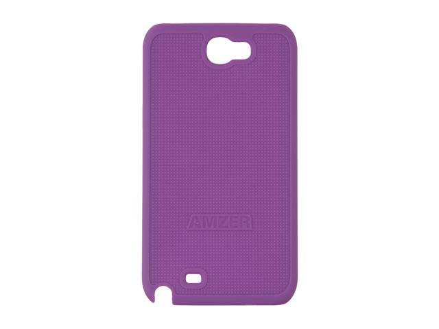 AMZER Purple Snap On Case For Samsung Galaxy Note II AMZ94957