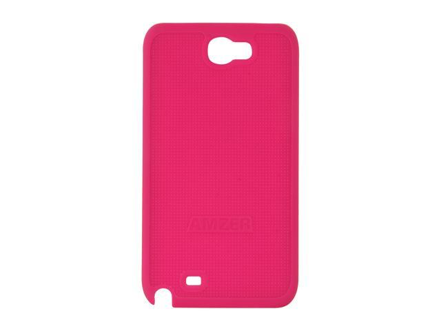 AMZER Hot Pink Snap On Case For Samsung Galaxy Note II AMZ94959
