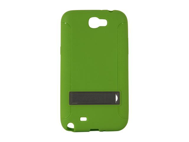 AMZER Green TPU Skin Case w/ Kickstand For Samsung Galaxy Note II AMZ95210