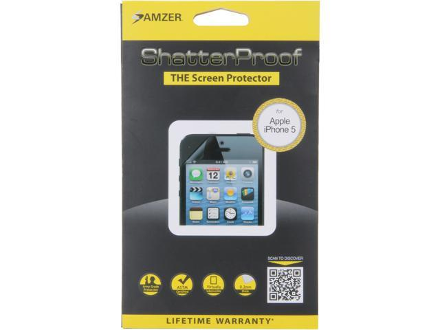 AMZER ShatterProof Front Coverage Screen Protector For iPhone 5 AMZ94904