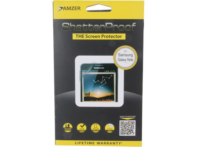 AMZER ShatterProof Front Coverage Screen Protector For Samsung Galaxy Note AMZ94895