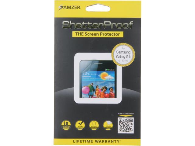 AMZER ShatterProof Front Coverage Screen Protector For Samsung Galaxy S2 AMZ94934
