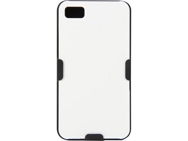 AMZER Shellster Black & White Case For BlackBerry Z10 AMZ95379