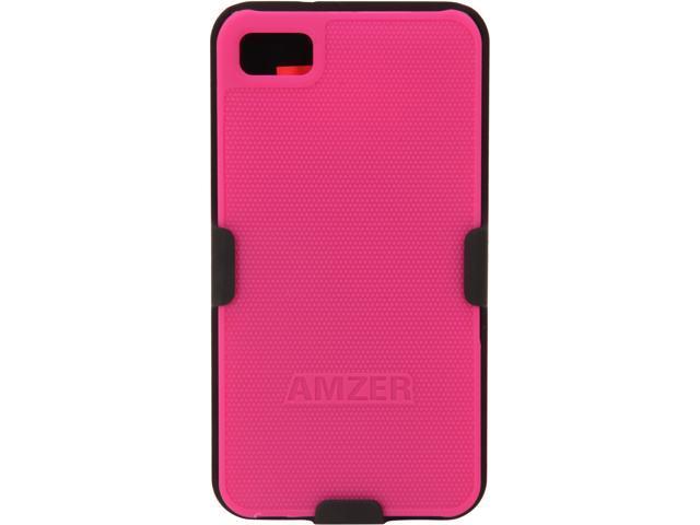 AMZER Shellster Black & Hot Pink Case For BlackBerry Z10 AMZ95380