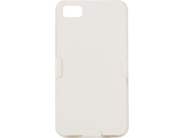 AMZER Shellster White Case For BlackBerry Z10 AMZ95377