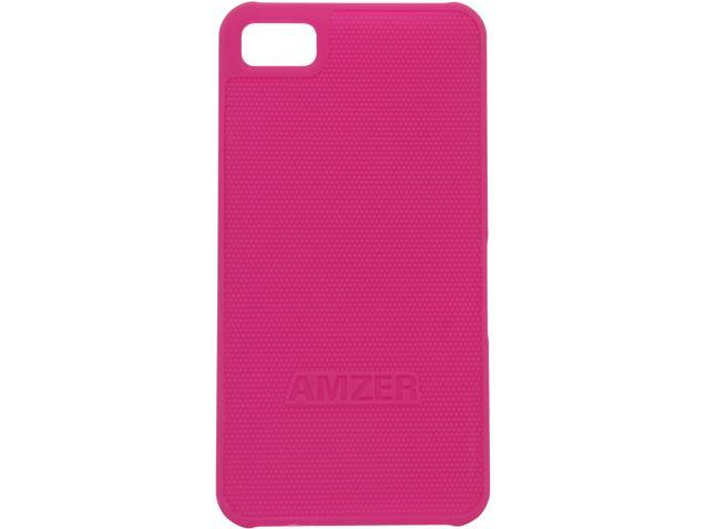 AMZER Hot Pink Snap On Case For BlackBerry Z10 AMZ95375