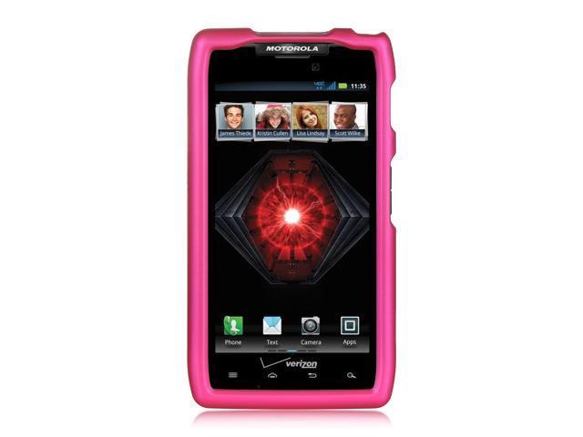 Motorola Razr Maxx XT916 Purple Crystal Rubberized Case