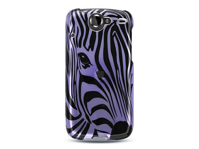 Luxmo Purple Purple Zebra Face Design Case & Covers Google Nexus 1