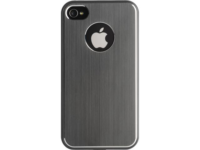 Kensington Gray Aluminum Finish Case for iPhone 4 & 4S K39389US