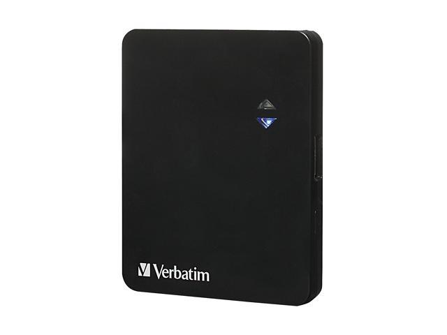Verbatim Black 1200 mAh Ultra Slim Power Pack Charger 97929