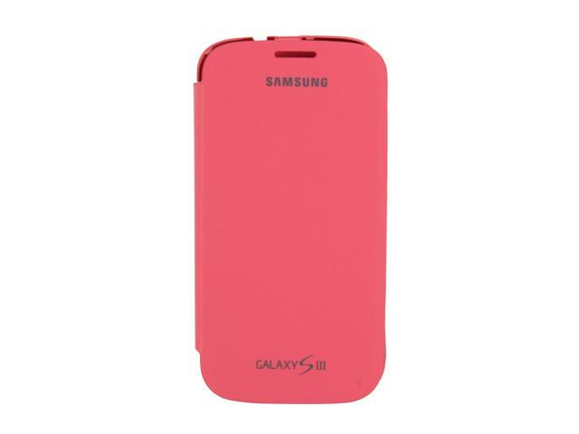 SAMSUNG Pink Flip Cover For Galaxy S III EFC-1G6FPEGSTA