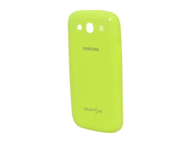 SAMSUNG Green Protective Gel Cover For Galaxy S III EFC-1G6PMEGSTA