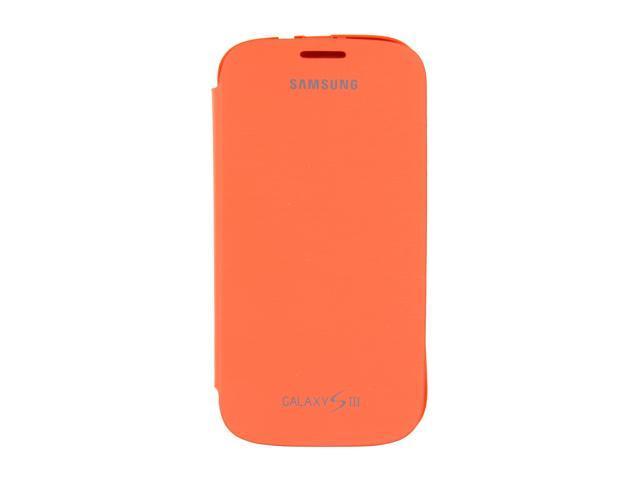 SAMSUNG Orange None Flip Cover For Galaxy S III EFC-1G6FOEGSTA