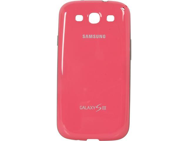 SAMSUNG Pink None Protective Cover For Galaxy S III EFC-1G6BPEGSTA