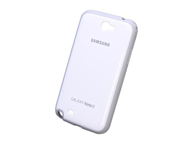 SAMSUNG White Protective Cover For Galaxy Note 2 EFC-1J9BWEGSTA