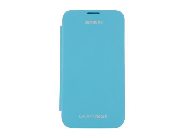 SAMSUNG Light Blue Flip Cover For Galaxy Note 2 EFC-1J9FBEGSTA