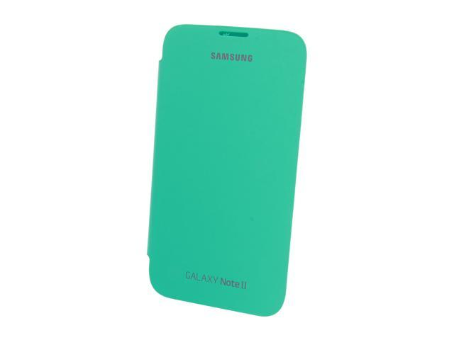 SAMSUNG Mint Flip Cover For Galaxy Note 2 EFC-1J9FMEGSTA