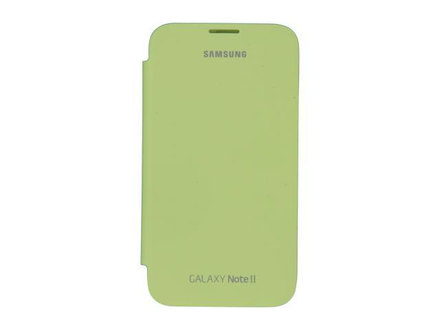SAMSUNG Lime Green Flip Cover For Galaxy Note 2 EFC-1J9FMEGSTA