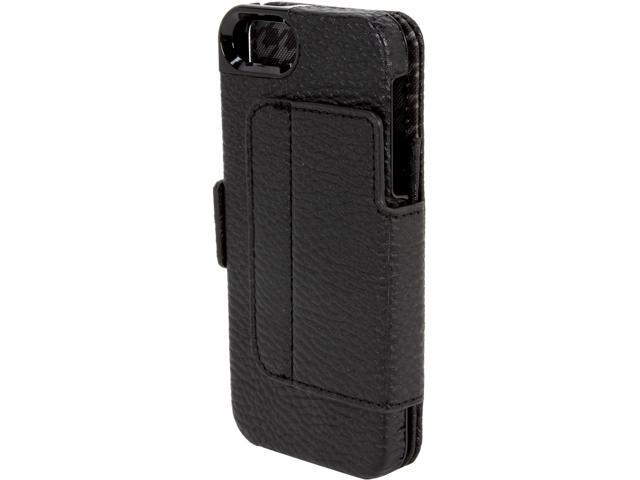 Kensington Portafolio Duo Black Solid Wallet for iPhone 5 / 5S K39615WW