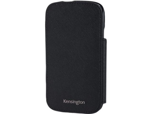 Kensington Portafolio Duo Black Solid Wallet for Samsung Galaxy S III K39612WW