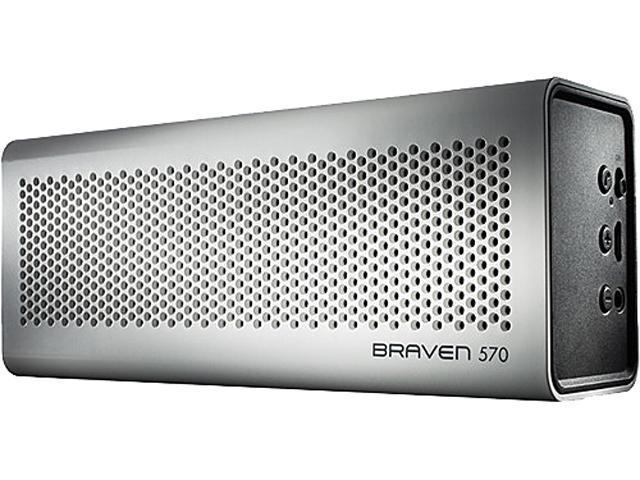 Braven BZ570WBP White Portable Wireless Bluetooth Speaker