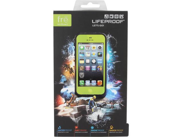 LifeProof fre Lime / Black Case For iPhone 5 1301-07