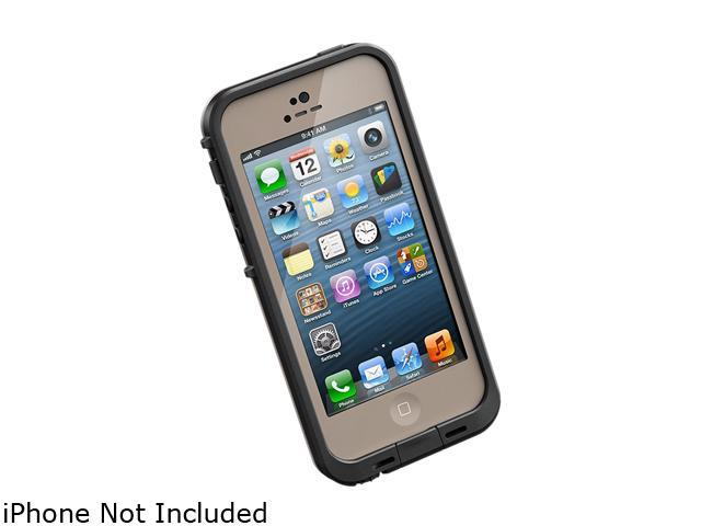 LifeProof fre Dark Flat Earth/Black Case For iPhone 5 1301-12